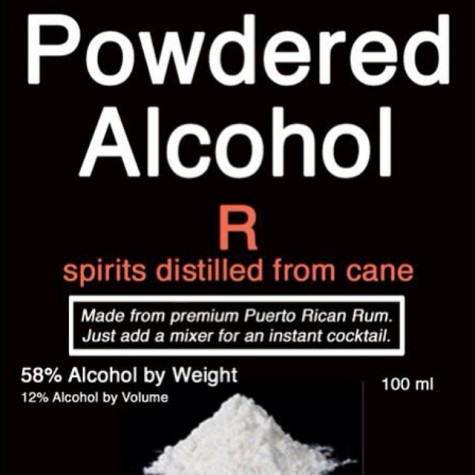 Powdered alcohol: an easier way to sneak a drink?