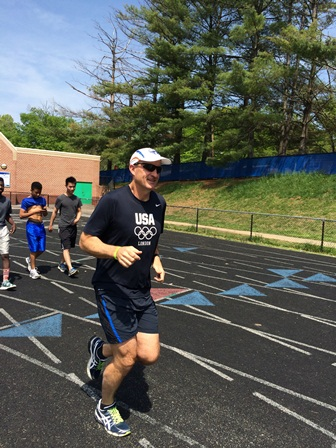 Jacobson completes fifth marathon
