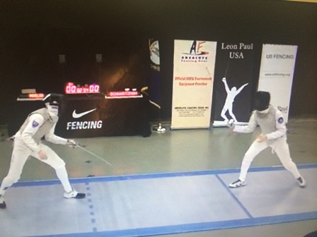 Junior duels his way to national ranking