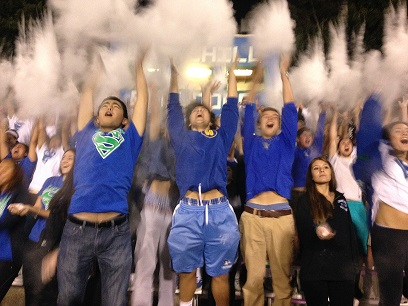 School spirit on the rise at CHS sporting events