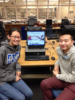 Seniors Andy Kuo and Jaclyn Shin started Humans of Churchill after being inspired by the popular Facebook page Humans of New York