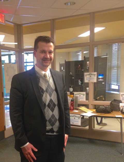 Assistant Principal John Taylor is helping to supervise the mentoring program.