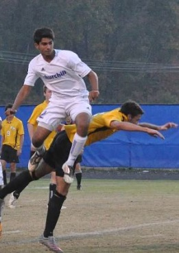 Junior Sepehr Hoghooghi earned the fourth best fall sport moment with his opening goal against Wootton Sept. 18.
