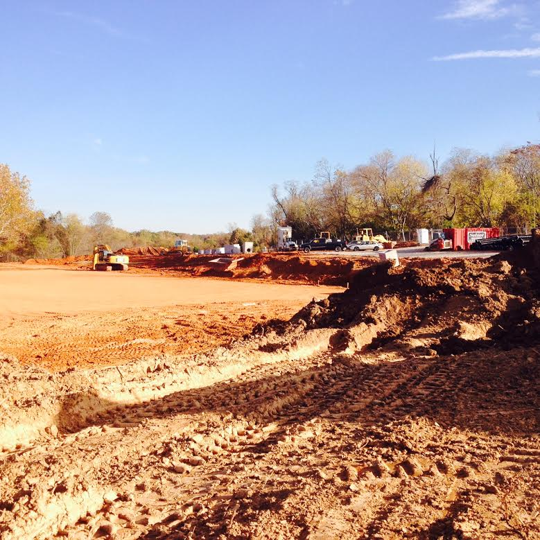 The site for the interpretive playground is currently under construction in the Greenbriar Local Park and is expected to open in Fall 2015.