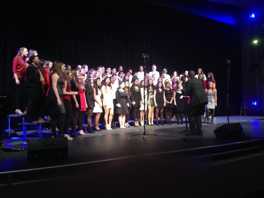 CHS chorus winter concert