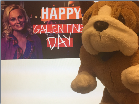 Parks and Rec's new holiday, Galentine's Day, allows people to enjoy time with their friends.