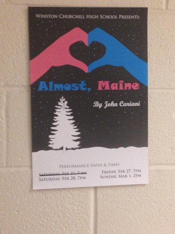 CHS winter play 'Almost, Maine' has shows cancelled