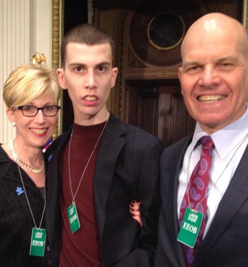 Junior meets VP Biden