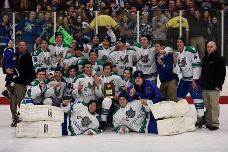 Hockey wins State Championship with record-breaking dominance