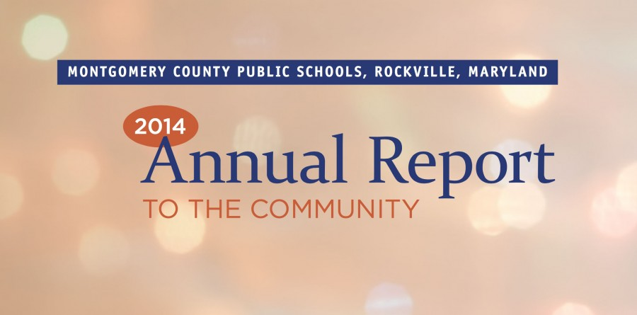 MCPS released its annual report which includes information regarding the county's recent accomplishments.