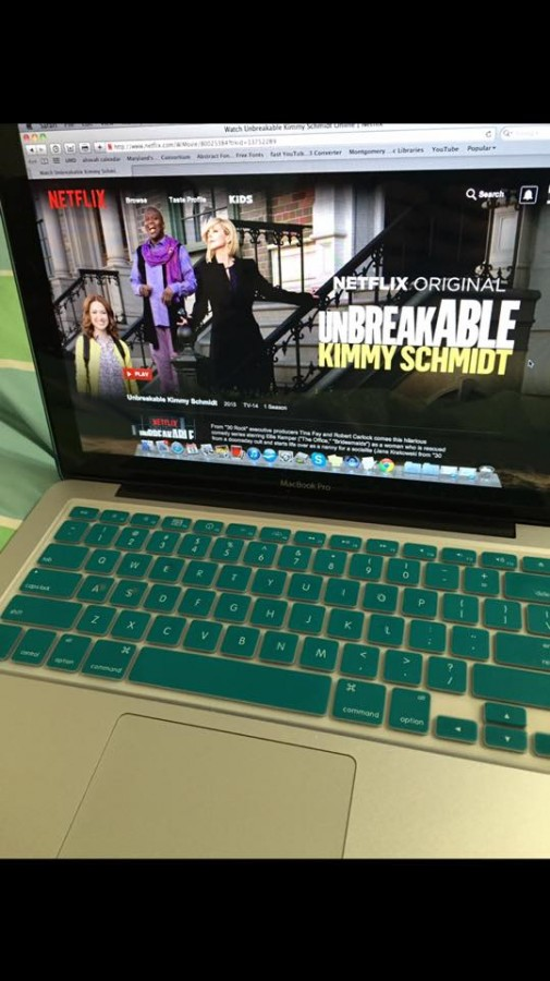 Unbreakable+Kimmy+Schmidt%2C+which+debuted+March+6%2C+is+one+new+show+to+binge-watch.
