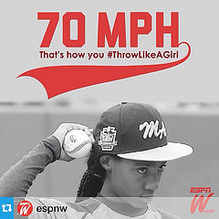 Little League World Series player Mo'ne Davis exhibited class in dealing with defamation by college baseball player Joey Casselberry
