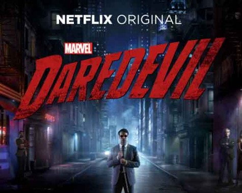 Daredevil compensates for his blindness by using his scent-tracking and hearing powers to defeat villains in the recent Netflix series.