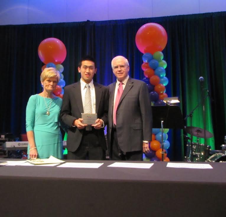 Senior Wins Award