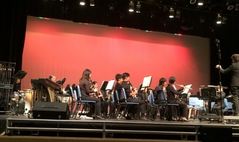 CHS Band Performs
