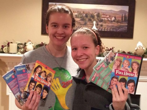 Senior Sarah Bomfim and her freshman sister Emma received every episode of Full House from their parents and are excited for Fuller House to come out Feb. 26, 2016.