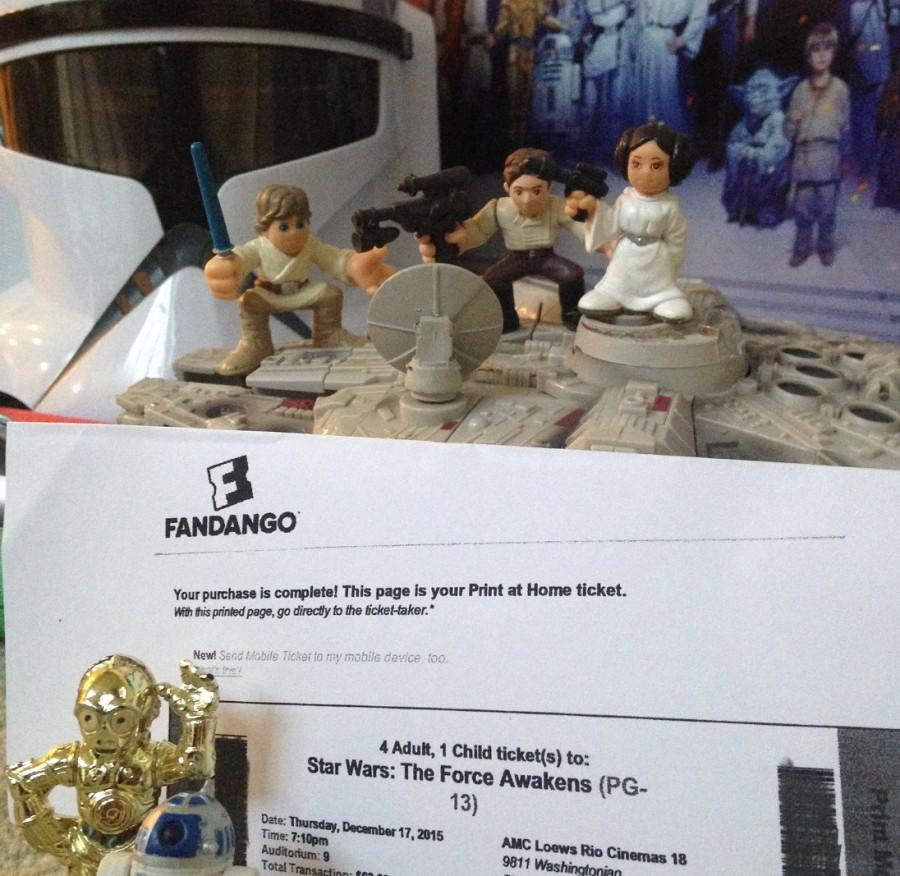 Star Wars fans have already purchased their tickets for the premiere.