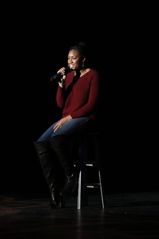 Senior Kennedy Gray had never sung solo in front of her peers before the CHS' Got Talent Competition Dec. 2. Gray was inspired to sing by her grandmother who encouraged her to get over her stage fright.