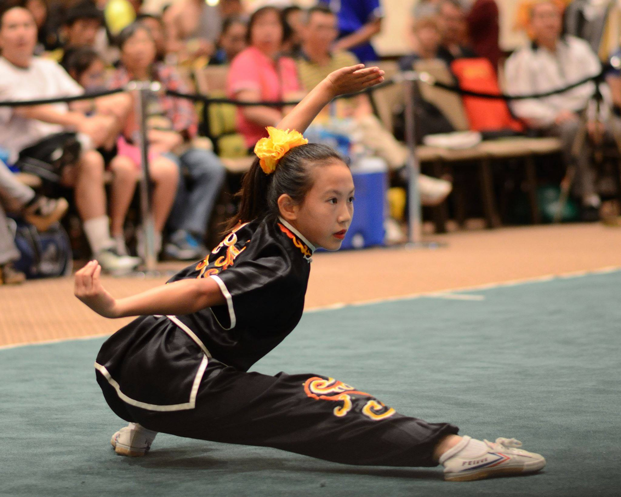 Lucy Lee won bronze and silver at the World Wushu Championships.