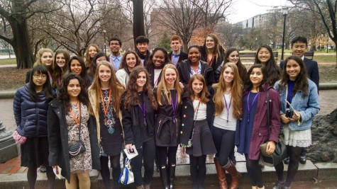 U.S. History and art students got the opportunity to go to the White House Feb. 24 to hear Michelle Obama give a speech about overcoming adversity. The field trip also allowed the students to explore D.C.