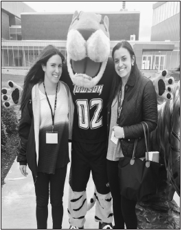 Senior Maggie Nardi and her future roommate at Towson met through a friend-of-a-friend.