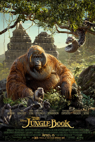 The revival of Disney's The Jungle Book displays realistic visuals that bring the audience into the movie.