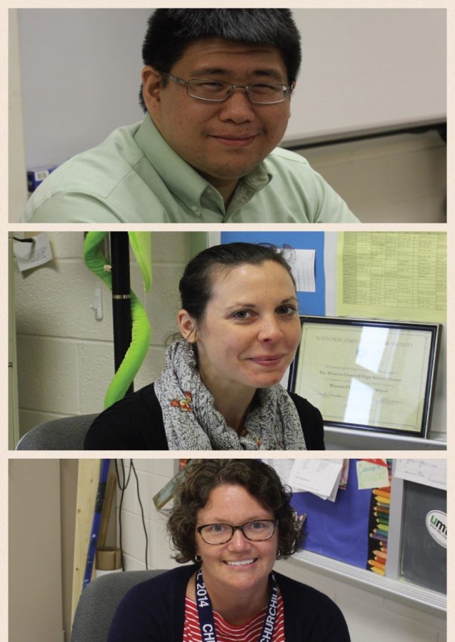 Jonathan Lee, Shelley Perrett and Mary Dempsey will take on new leadership positions next year.