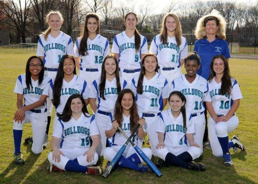 Varsity+Softball++features+two+sophomore+captains+and+two+junior+captains+in+place+of+seniors.+The+team+is+off+to+a+2-8+start.+
