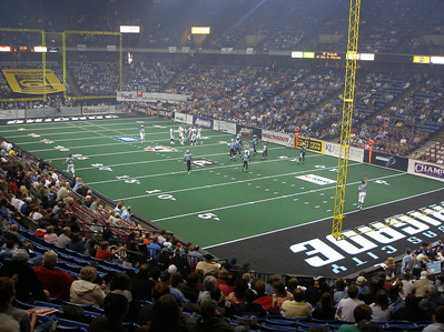 Students Doubt Success of New Arena Football Team