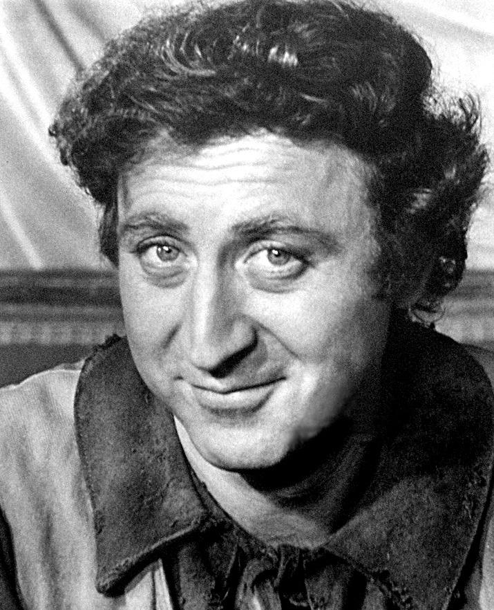 "Gene Wilder starred in popular movies such as ""Willy Wonka & the Chocolate Factory."""