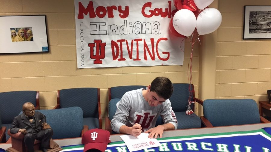 Mory Gould Commits to Indiana University Diving