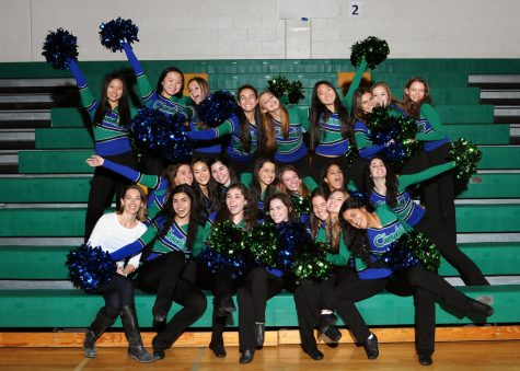 CHS poms had a busy weekend, performing at a Wizards game Jan. 6 and competing Jan 7.