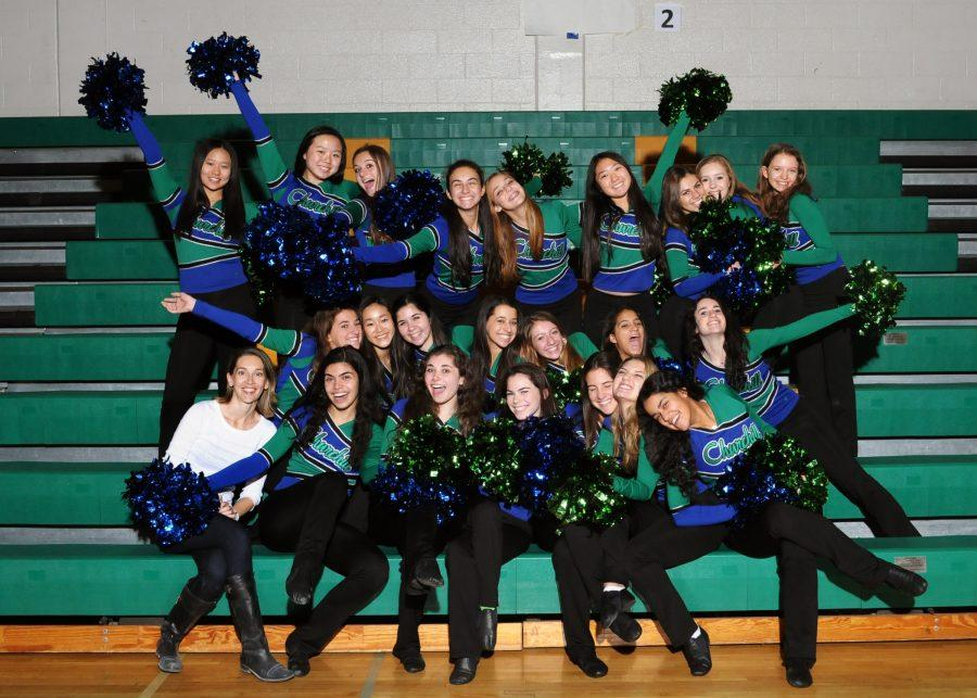 CHS+poms+had+a+busy+weekend%2C+performing+at+a+Wizards+game+Jan.+6+and+competing+Jan+7.