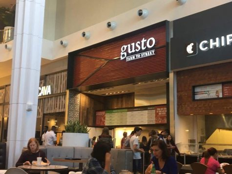 Gusto Farm to Street restaurant attracts CHS students