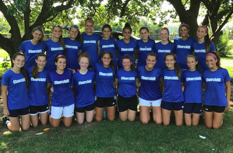 Girl's Varsity Soccer Takes the Field with High Hopes for 2017 Season