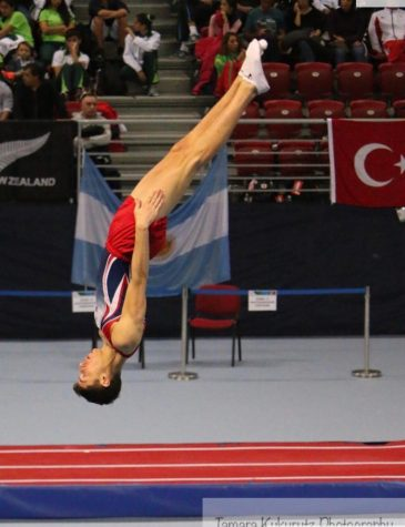 Senior represents USA in World Trampoline Championships