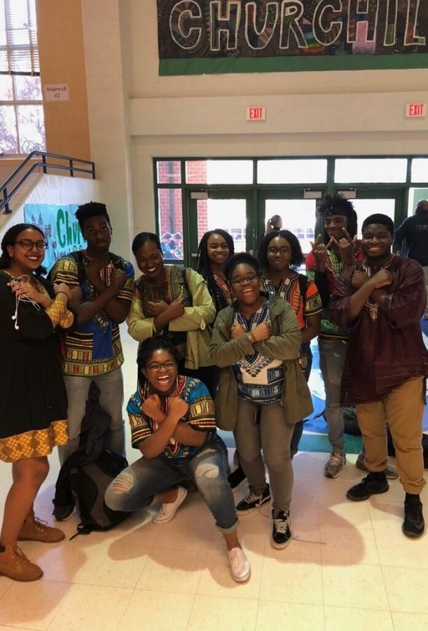 CHS students celebrate Black History Month in style