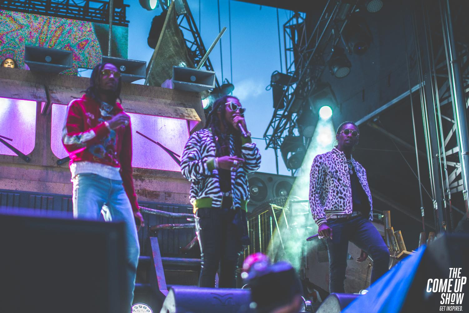 Migos has released two albums within one year, both of which reached number one on the Billboard top 200 albums in each of their first week available.
