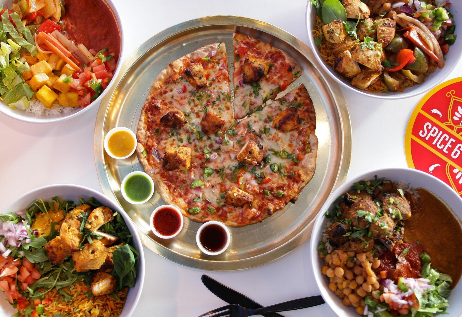 Spice 6's opening in Montgomery Mall brings a bigger range of food options.