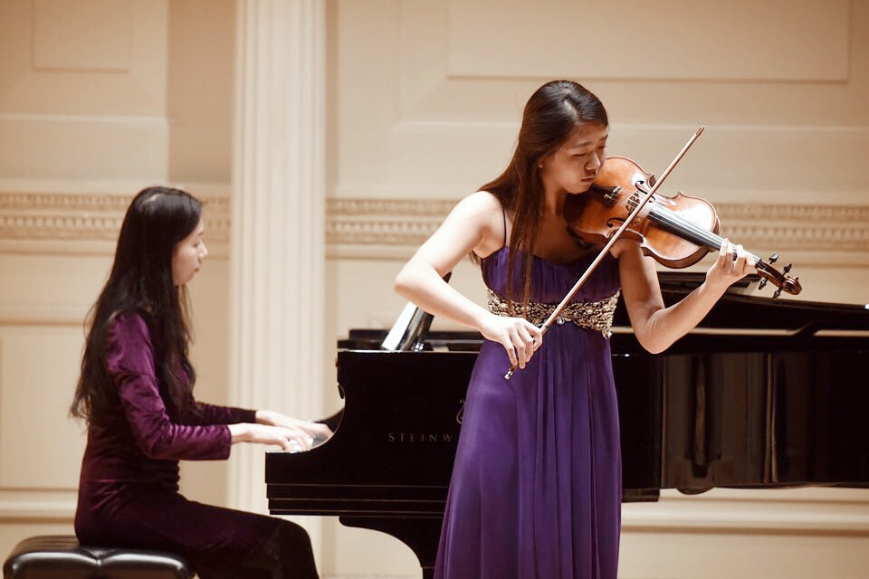 Junior Teddi Yoo has been chosen to be a member of the National Association for Music Education. She has also been given a scholarship for her piano playing.