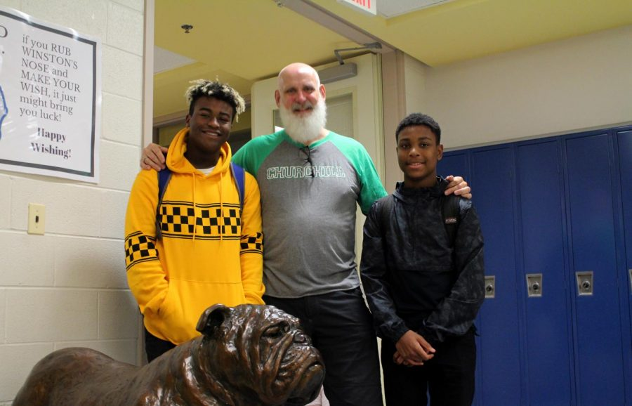 Mr. Hart-Southworth has two sons at CHS, Alonzo and Stevie. He is just one of many teachers at CHS with kids who attend the school.