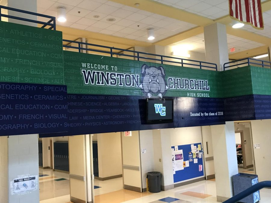 The Class of 2018 donated the CHS logo painting for the bulldog lobby as a senior gift. It's just one of the many changes accompanied by the 2018-2019 school year.