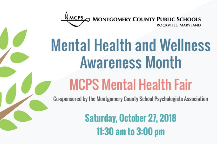 The MCPS Mental Health Fair was held on October 27th.