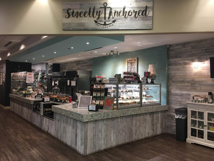 Sweetly Anchored has recently opened in Cabin John Shopping Center and is the perfect place to stop in and enjoy all different kinds of baked goods.