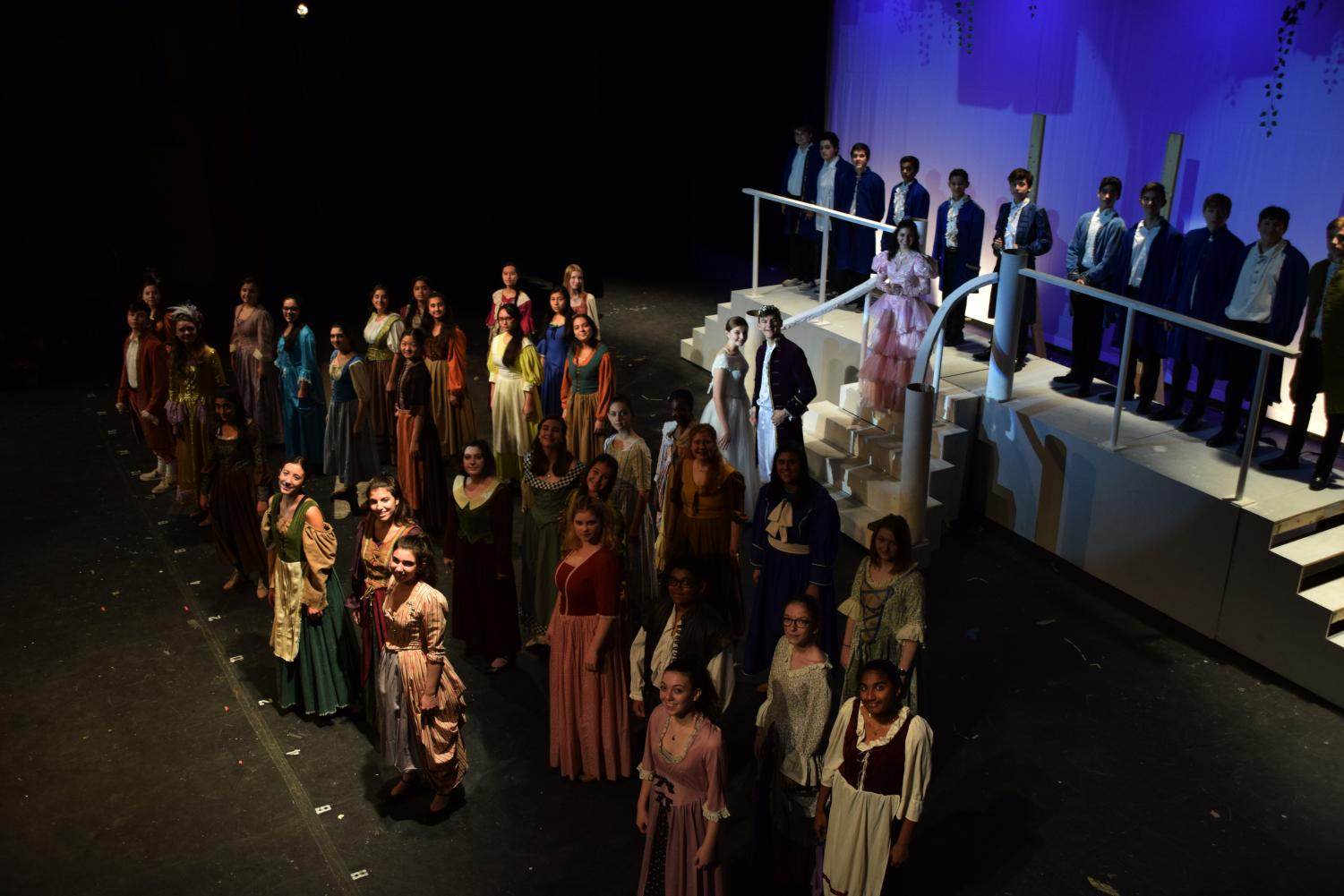 The CHS stage crew helped make Cinderella memorable.