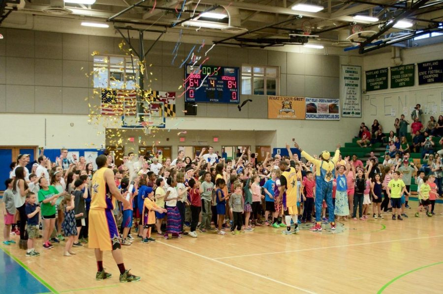 The Educational Foundation hosted a fundraiser with the Harlem Wizards last March in order to raise money for future projects.