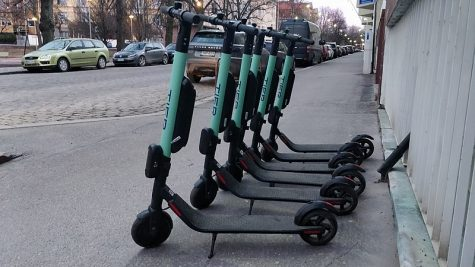 Rentable scooters show future of transportation