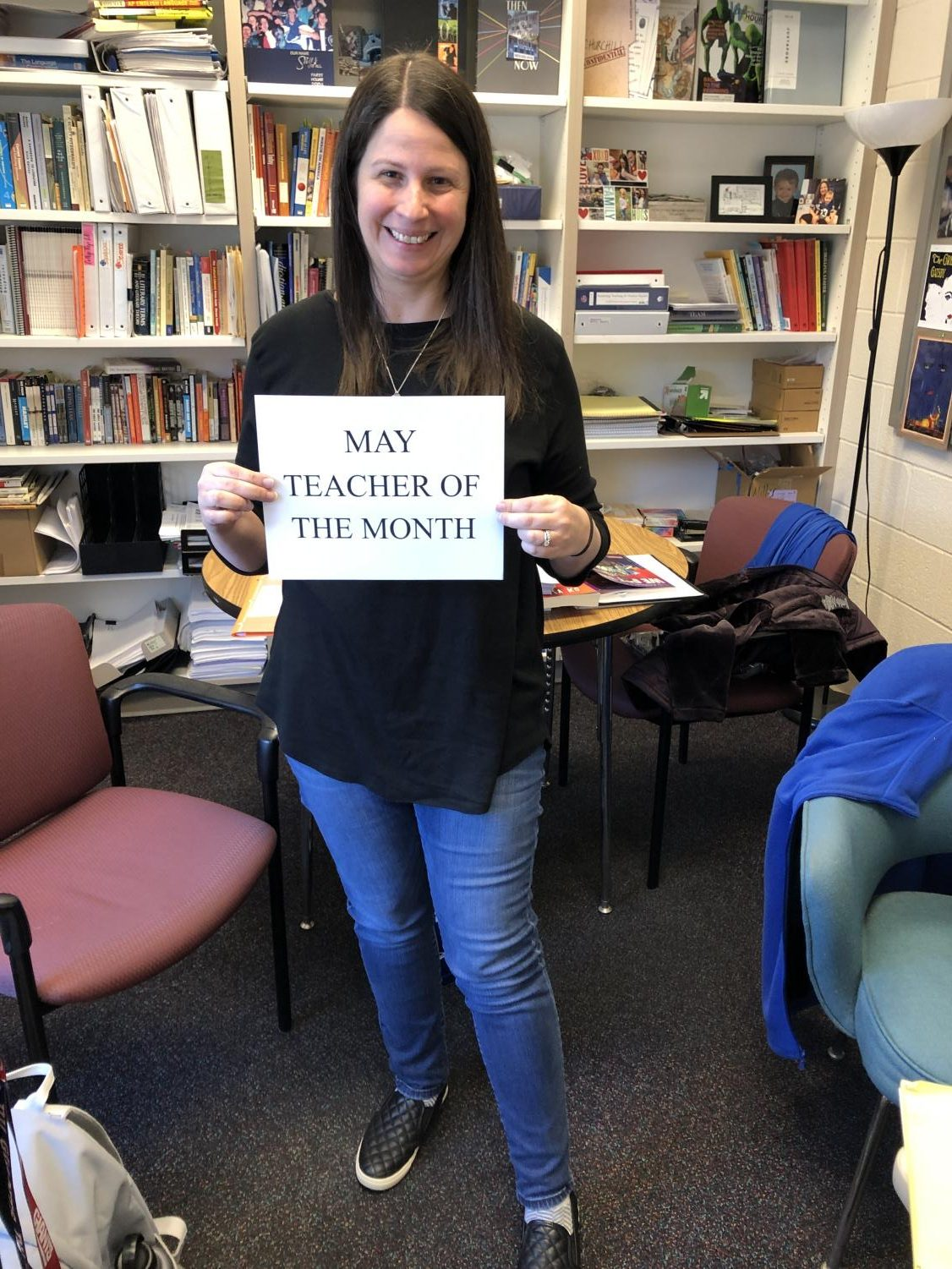 Jennifer Miller is the head of the English department and has loved English since she was a kid.
