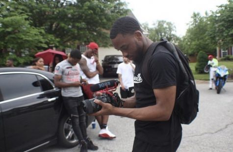 Celebrity videographer, 2kforbes, edits the DMV