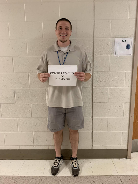 Stephan Wilson, math teacher at WCHS.